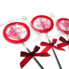 Condom Lollipops